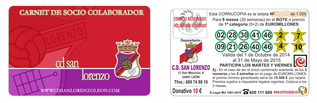 CORNUCOPIAS CD SAN LORENZO