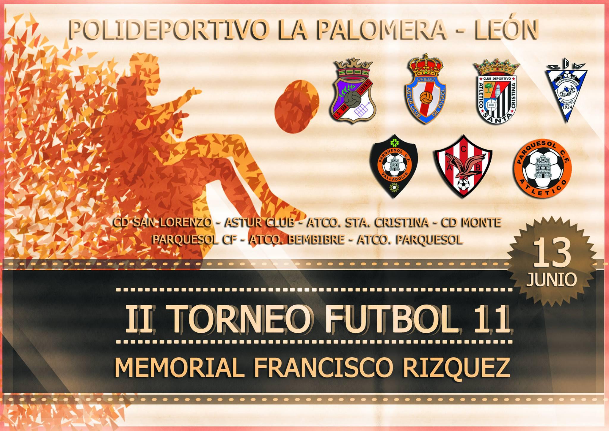 II Torneo Futbol 11 Francisco Rizquez
