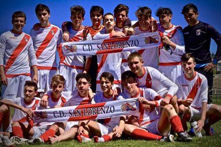 Cadete A San Lorenzo campeón de Liga